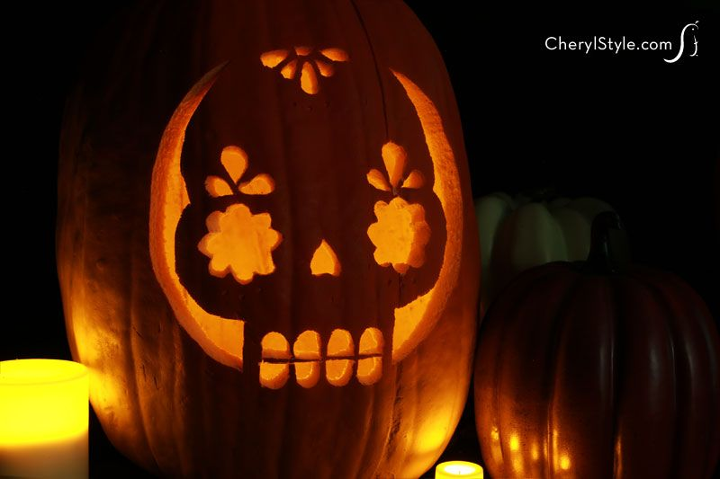 Get carving with printable pumpkin carving stencils - Everyday Dishes