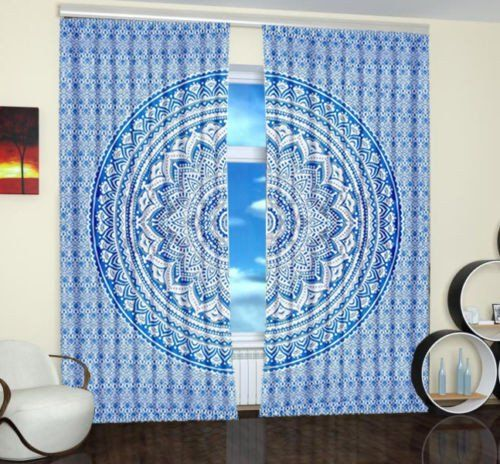 Cheap Mandala Curtains On Sale Windows 2 Panel Indian Tapestry