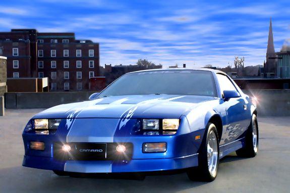 87 Camaro Irocz Chevrolet Camaro