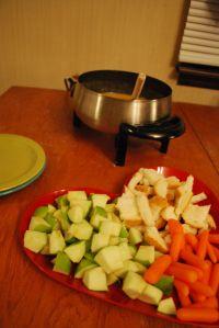 Fondue Night!! Recipes from the Melting Pot