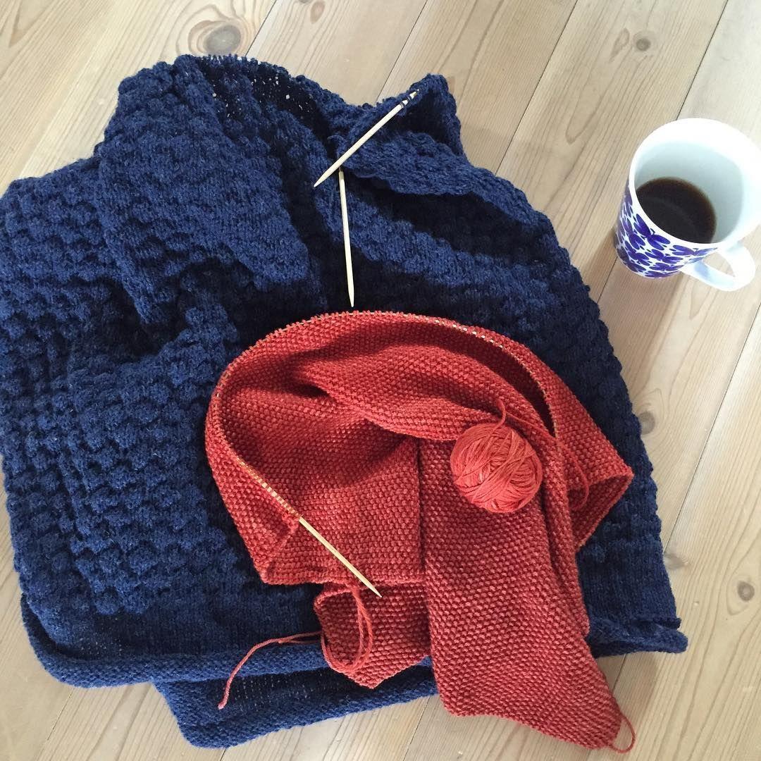 morning knits // strikkemorgen 👌