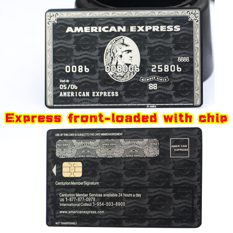 American Express Bank Near Me >> American Express Centurion Card Made By Metal Customized It Bgb