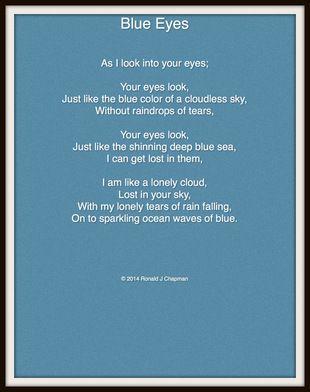 Blue Eyes Poem Blue Eye Quotes Eye Quotes Blue Eyes