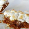 Sweet Potato Casserole with Marshmallows (Nut Free Version!) #sweetpotatocasserolewithmarshmallows Sweet Potato Casserole with Marshmallows - Life Love and Sugar #sweetpotatocasserolewithmarshmallows