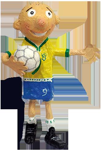 Aprenda a fazer um Craque do Futebol http   www.fabricadebrinquedos ... 2ce00b57c2746