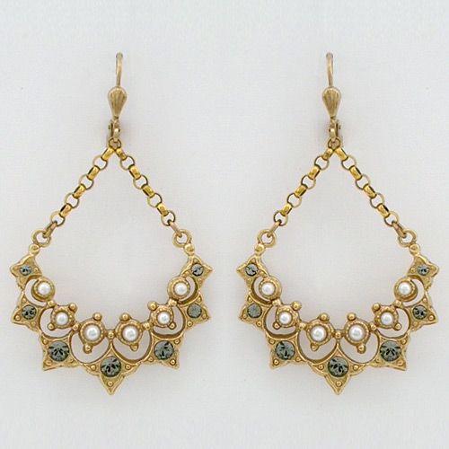 La Vie Parisienne Vintage Chandelier Earrings with Pearls, Vintage French  Earrings - Vintage Chandelier Earrings - Antique Chandelier Earrings Antique Furniture