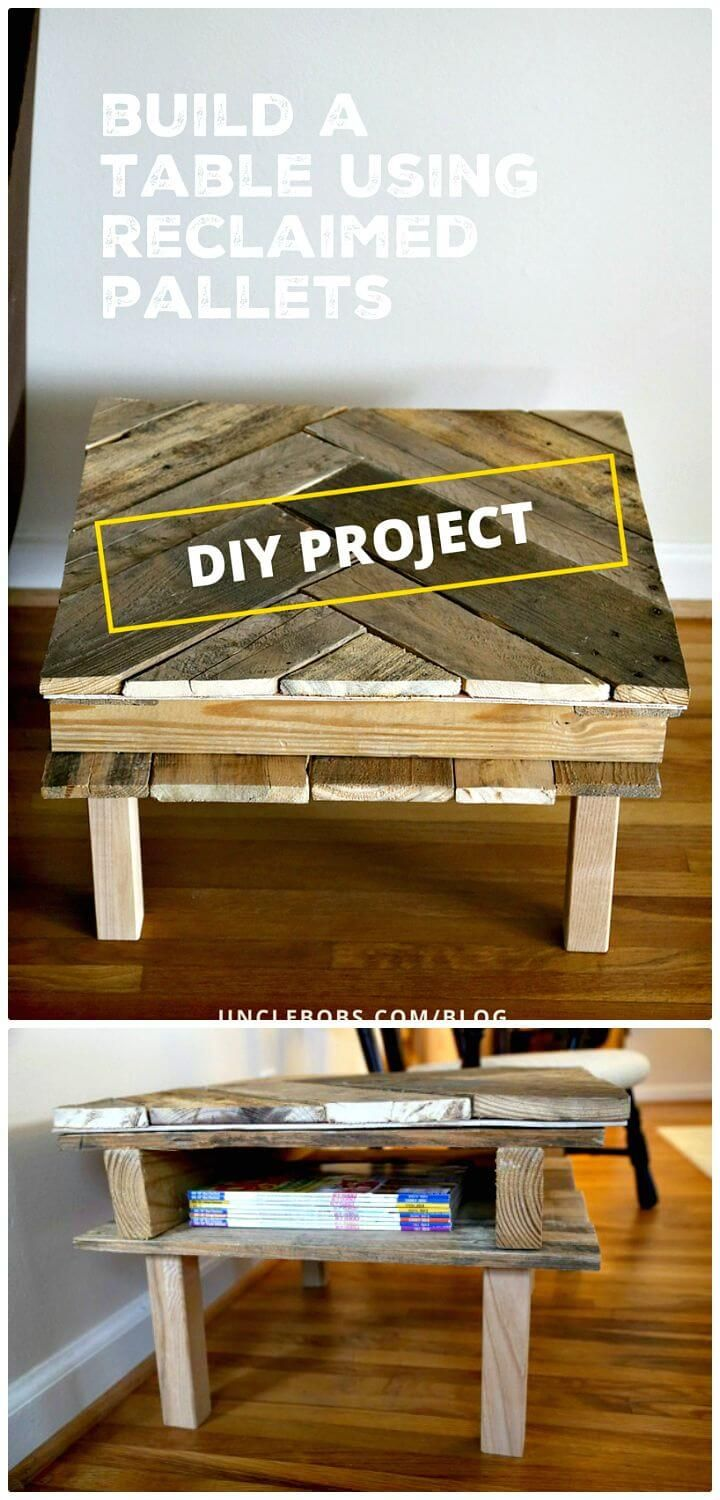 30 Pallet Ideas to Organize Your Home