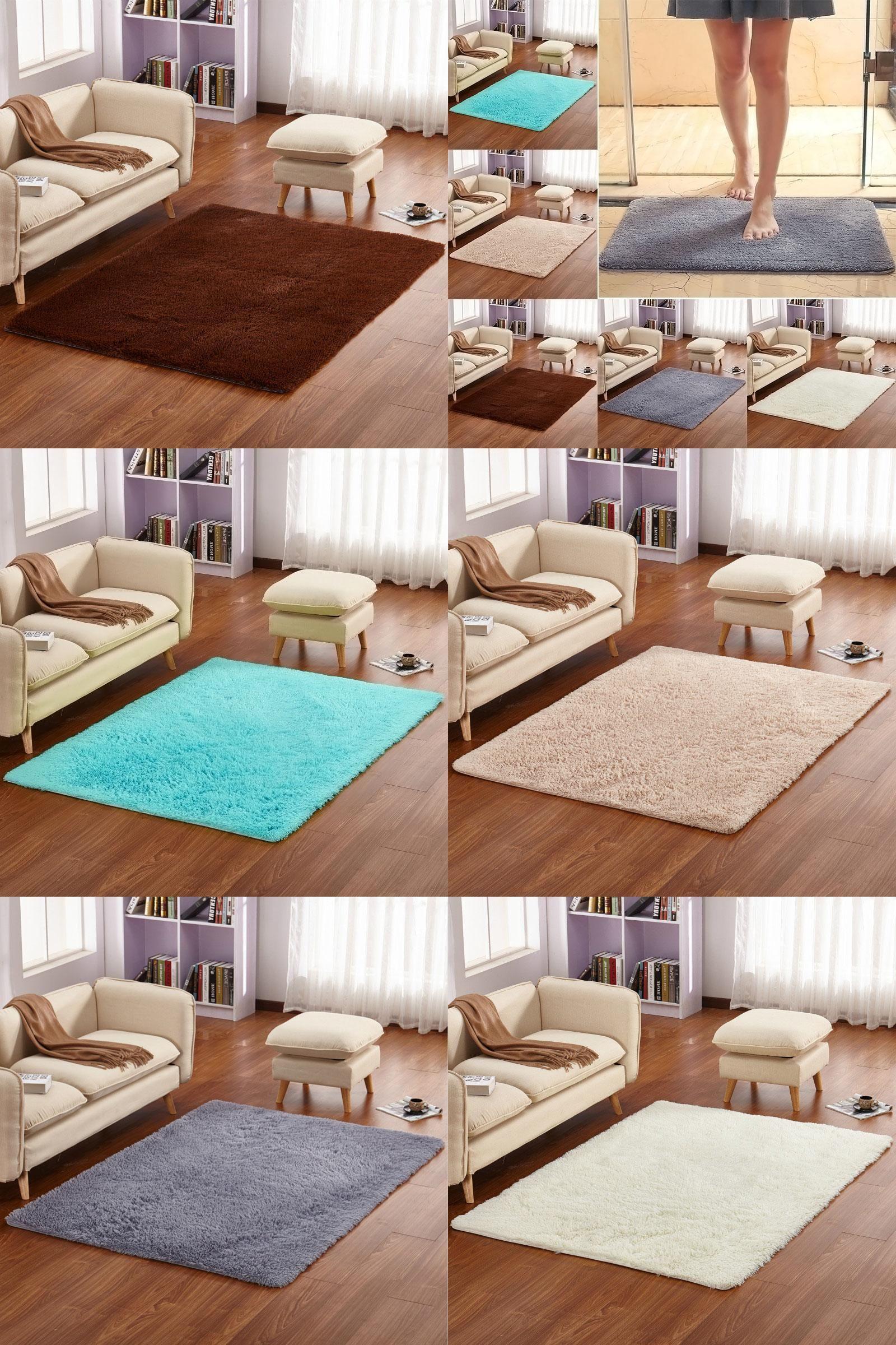 [Visit To Buy] Home Soft Mats Carpet Sofa Coffee Table Plush Carpet Non Slip Part 47