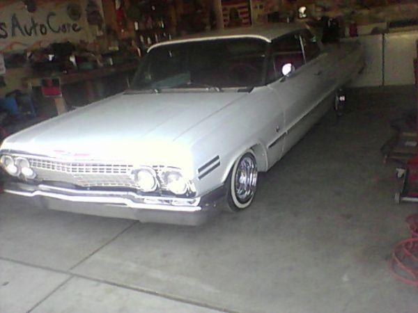 Clean 1963 White Pearl Chevy Impala Impala Chevy Chevy Impala