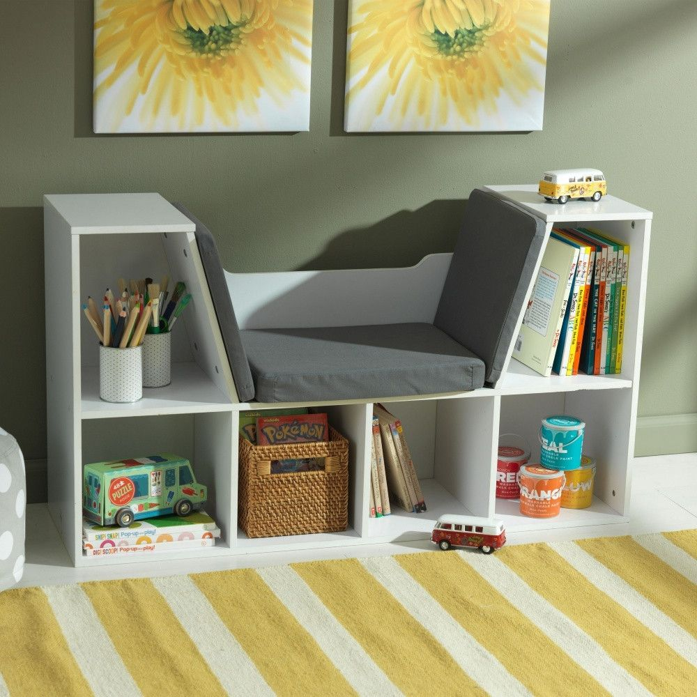 Kidkraft Bookcase With Reading Nook Childrens Bookcase Kids