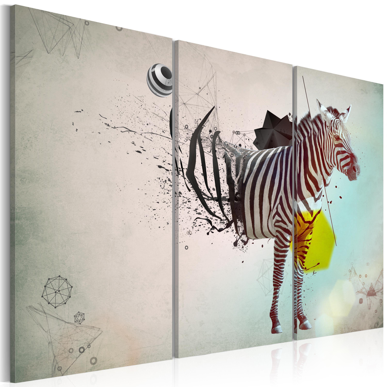 Tableau Zebre Abstraction Peinture Zebre Toile Et Tableau Elephant