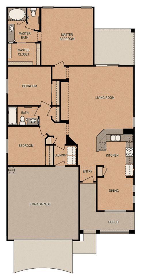 Raiatea Paradise At Ironwood Crossing By Fulton Homes House Floor Plans Fulton Homes Floor Plans