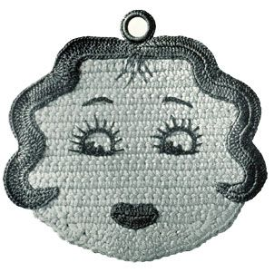 vintage crochet pattern...great motif for use as embellishment on a crocheted item.