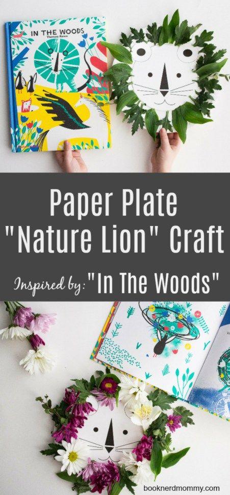 lion craft book craft paper plate craft kids craft preschool craft & lion craft book craft paper plate craft kids craft preschool ...