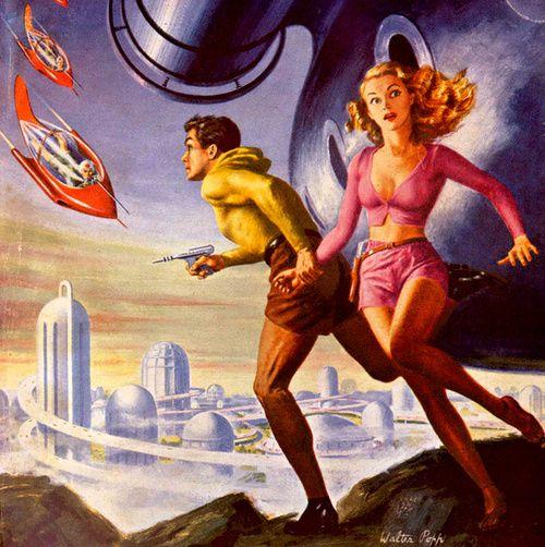 sciencefictiongallery: Walter Popp, 1952.