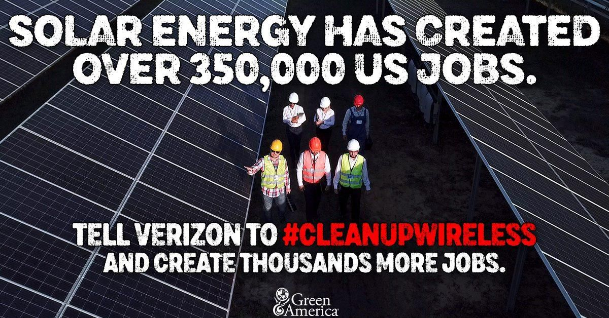 Hang Up on Fossil Fuels & Create Green Jobs Green jobs