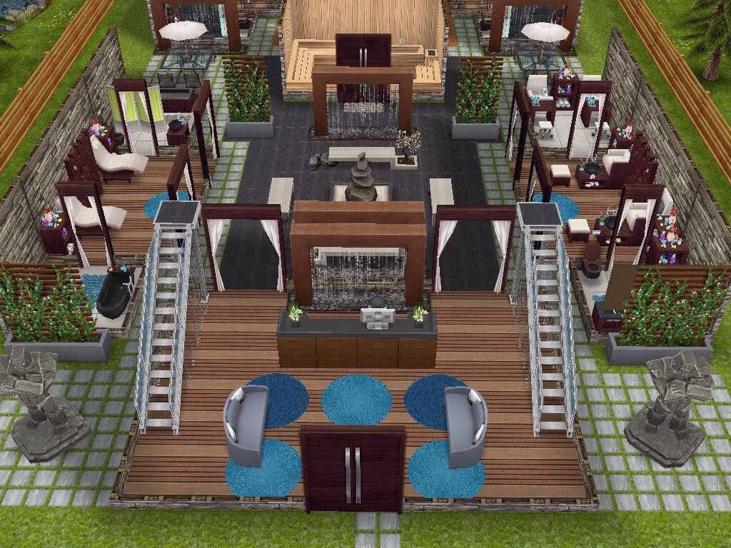 house 62 spa retreat level 1 sims simsfreeplay simshousedesign