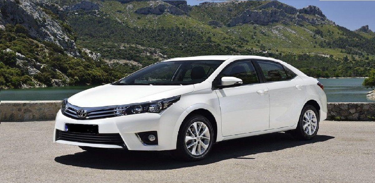 CONTACT US Rent a car, Toyota corolla, Car