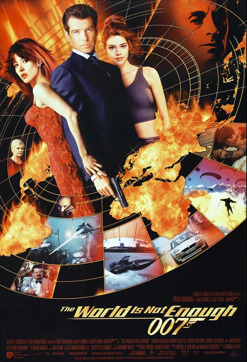 4 14 2013 The World Is Not Enough 1999 Brosnan S Third Bond