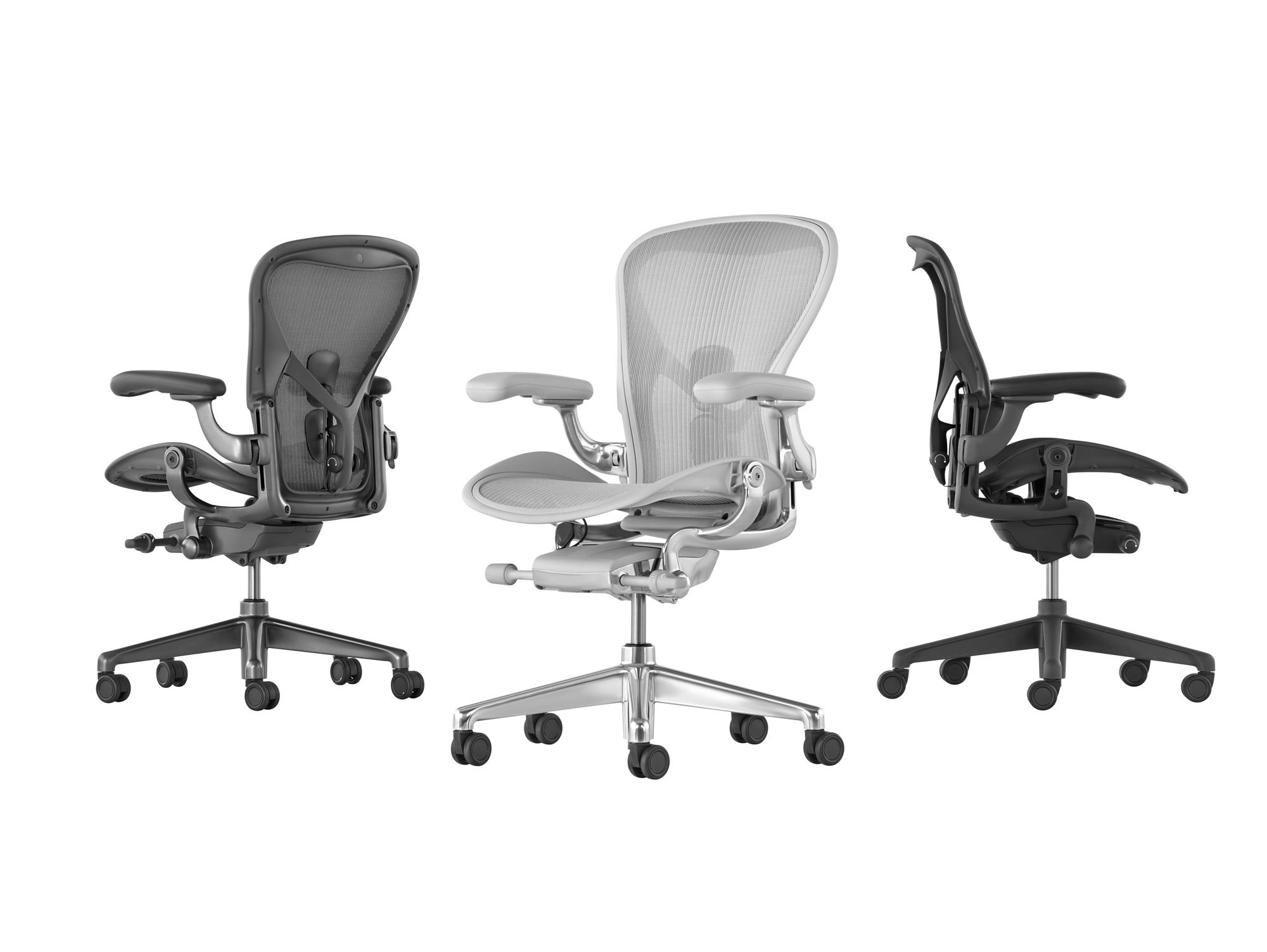 For the first time, Aeron is offered in three holistically