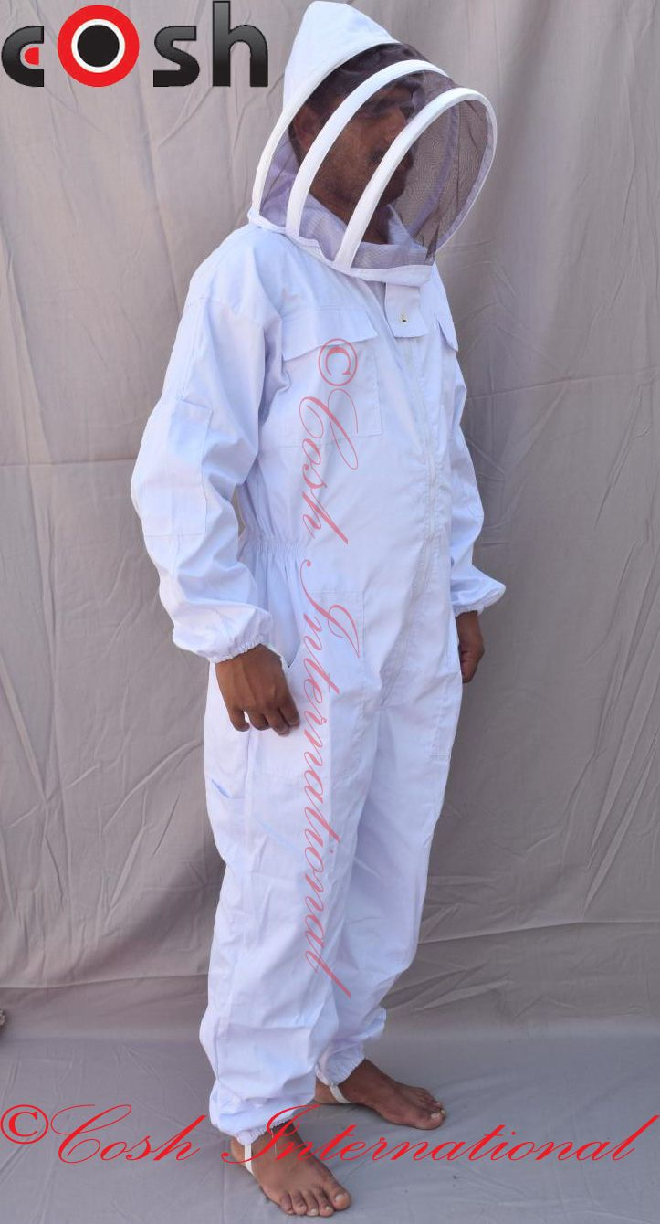 100% Cotton Fence Veil Beekeeper Suit. #cosh #international ...