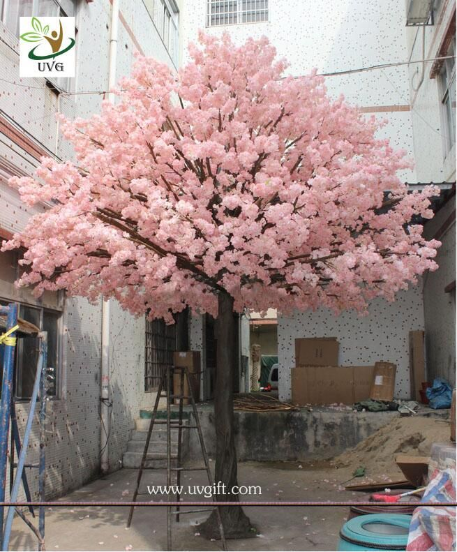 Uvg 15 Foot Large Cheap Artificial Trees In Silk Cherry Blossoms For Wedding Blossom Tree Wedding Artificial Cherry Blossom Tree Wedding Background Decoration