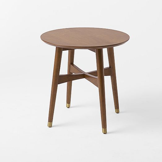 Reeve Mid Century Side Table West Elm 249 Accent Just A Thought But May Be Too Matchy