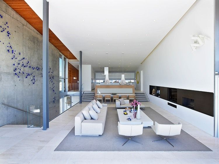 Long Island Beach House By West Chin Architect Living Room New