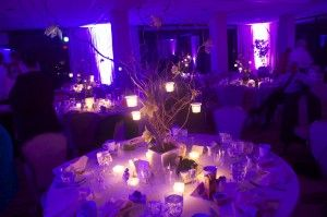 Fairy Tale Centerpiece Lighting Hanging Votices On Branches