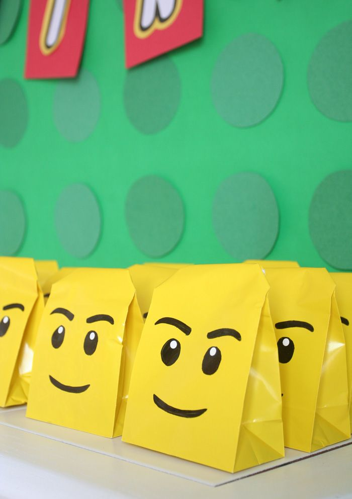 Another Bite Lego Party Bags