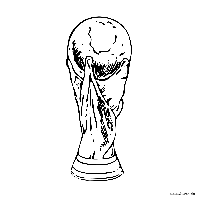 Jetzt Gibt Es Bei Hertie Schon Ausmalbilder Zur Wm2018 In Russland Der Weltmeisterpokal Vielleicht Auch Im Ausmalbilder Fussball Ausmalbilder Ausmalen
