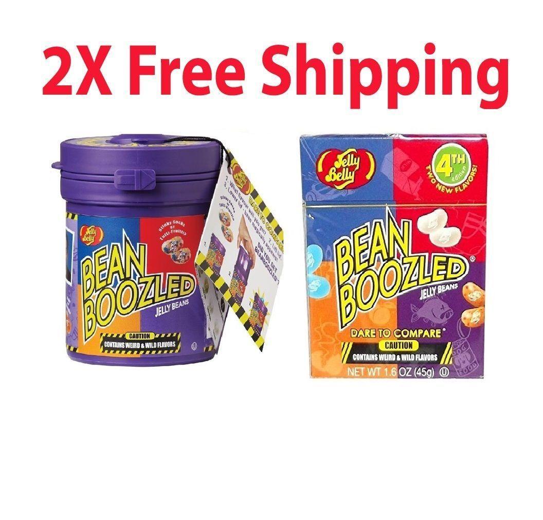 Jelly Belly Bean Boozled Mystery 1 Dispenser Daftar Harga Refill Harry Potter Spinner 2x Game 35oz Beans 2 Pack 102249f