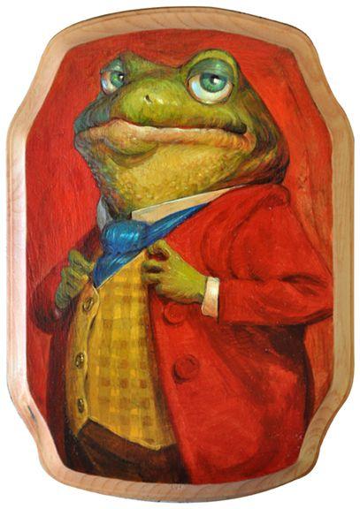 Toad of Toad HallbyAdam Rex #illustration