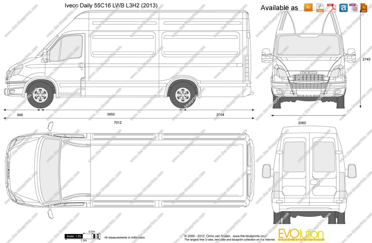 small resolution of ford iveco van dimensions 4 floor plans vans diagram vehicles ford