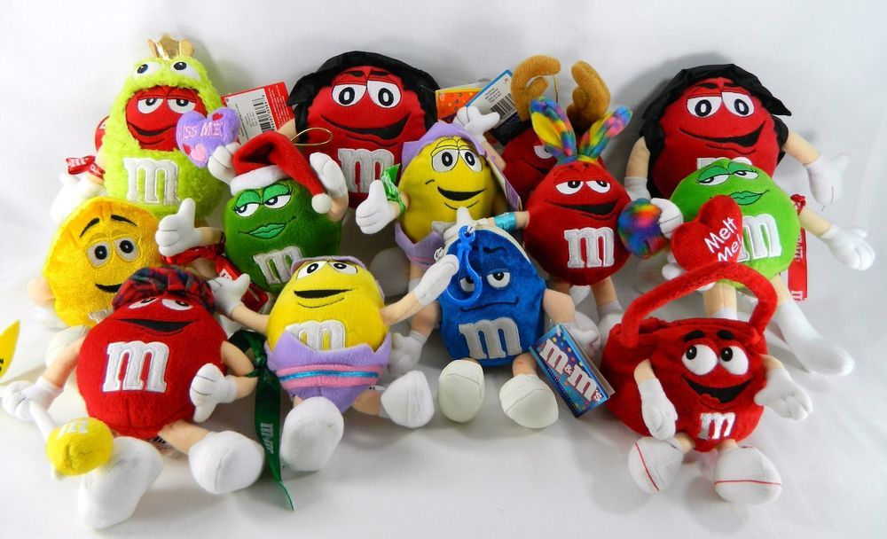 M M Toys Sale : M candy character plush doll stuffed toys lot s
