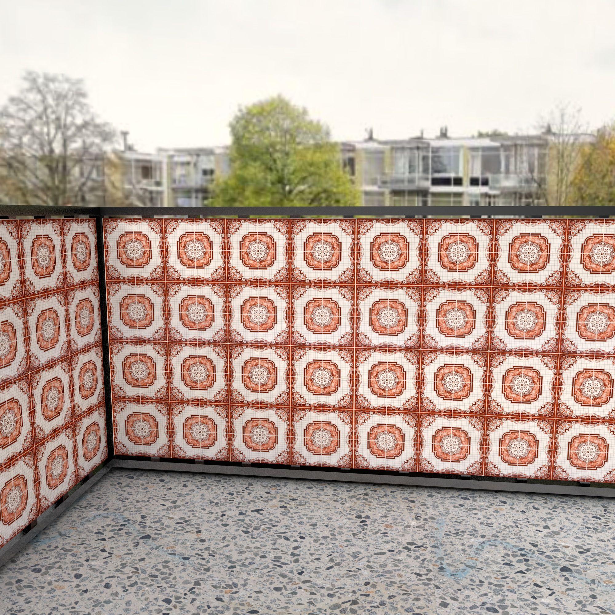 Makkelijk je balkon afschermen tegen inkijk met een balkondoek van