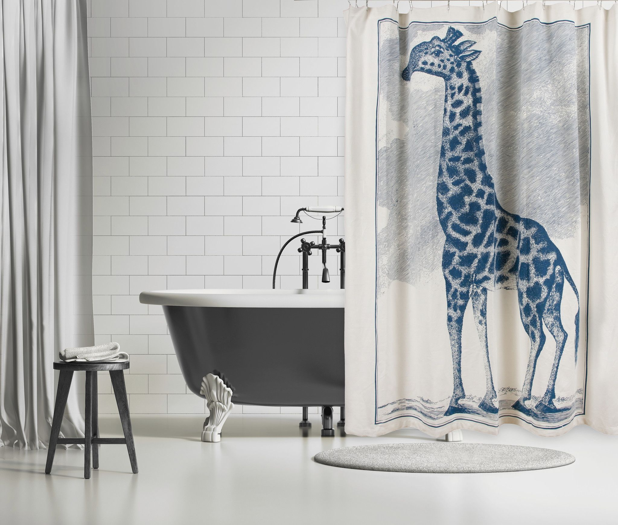 Thomas Paul Shower Curtain An Octopus Is Always Funny To Me