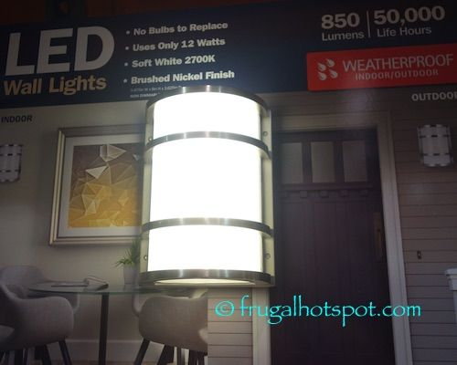 Costco Sale: Feit Electric LED Wall Sconce 2-Pk $33 99