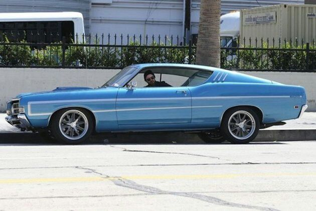1969 Gran Torino Gt Driven By Need For Speed S Aaron Paul Ford Torino Muscle Cars Car Ford
