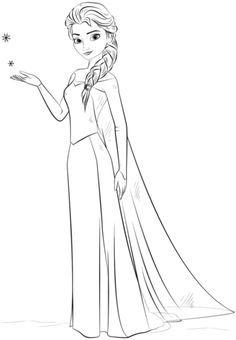 Ausmalbild Elsa Aus Frozen Kategorien Die Eiskönigin Völlig