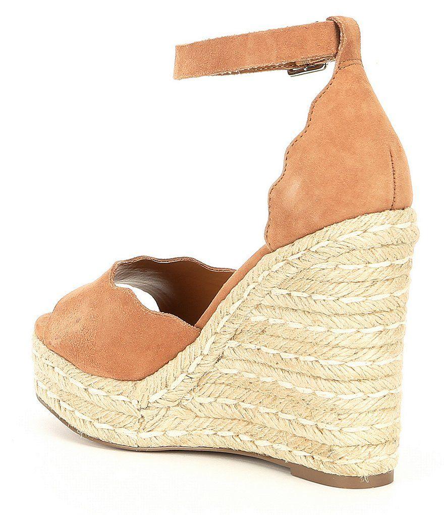 5a33820b7a6 Steve Madden Susana Suede Wedge Espadrille Sandals | Heel | Shoes ...