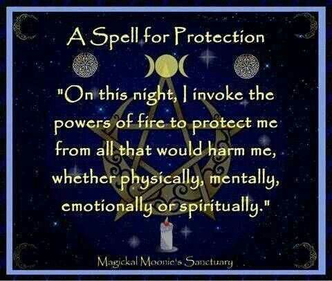 PRotection SPell FOr YOu