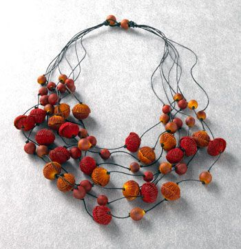 Paper mache beads group picture image by tag for How to make paper mache jewelry