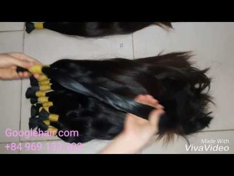 Great Hair Extensions With 100% Virgin Human Hair Thin Hair From Childre...