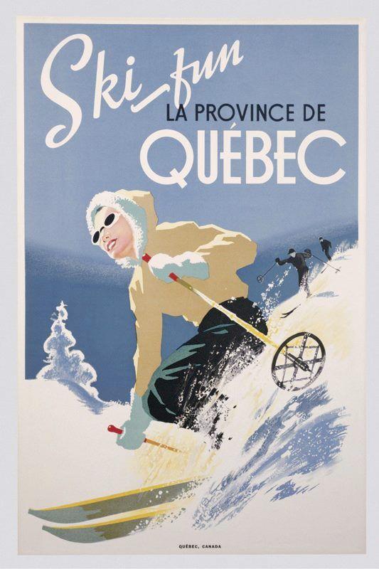 Ski fun La Province De Quebec