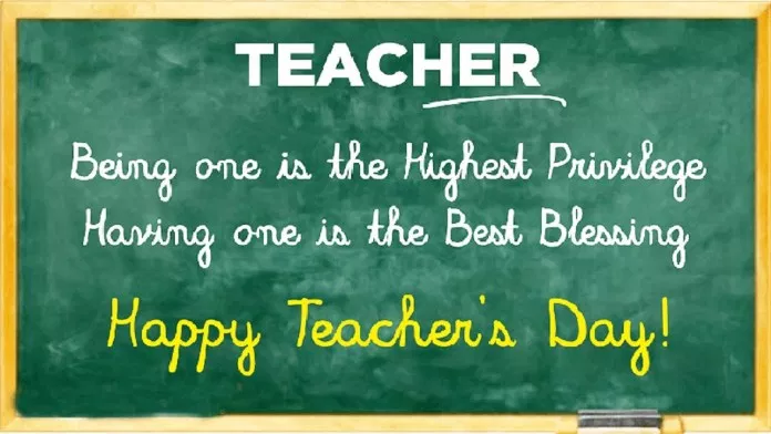 Happy Teachers Day 2019 Importance Of Teachers Day Happy Teachers Day Message Happy Teachers Day Wishes Quotes On Teachers Day