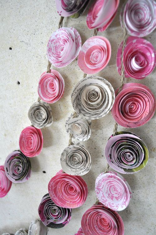 Most Popular Tags For This Image Include Baby Shower Diy Flower Garland And Pink