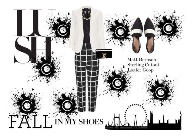 """""""Fall in My Shoes"""" by letivalentine ❤ liked on Polyvore featuring moda, Topshop, Wallis, Louis Vuitton e Matt Bernson"""