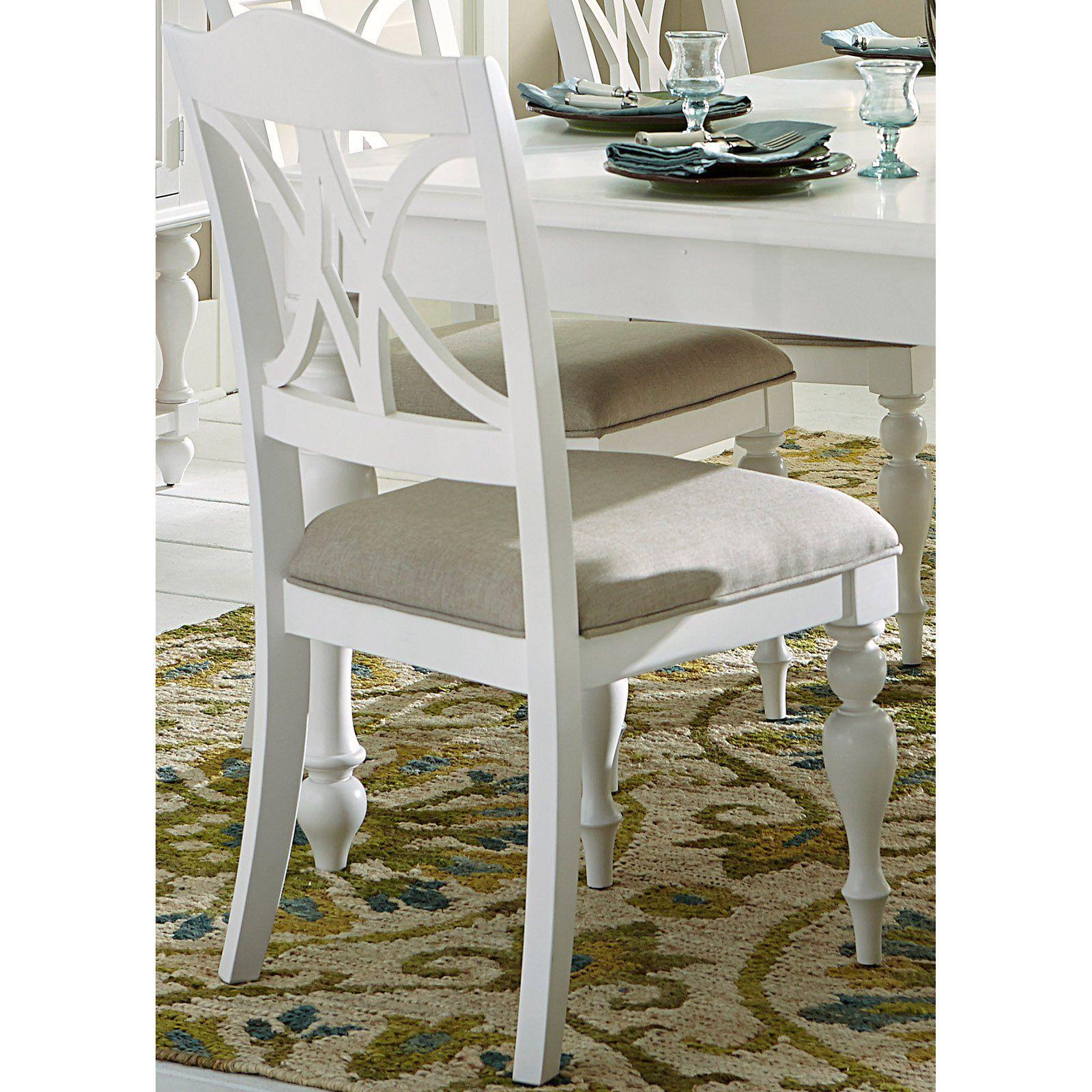 Stupendous Liberty Furniture Industries Summer House Slat Back Dining Machost Co Dining Chair Design Ideas Machostcouk