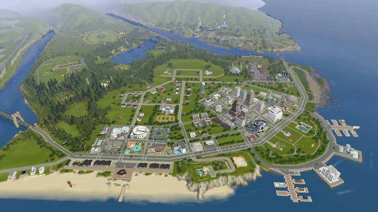 Beach City Sims 3 Worlds Sims City